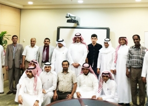 Deanship of Community Services and Continuing Education congratulated its employees