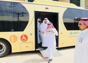 """المدير التنفيذي لجائزة الملك عبدالعزيز للجودة يزور""""بوابة وصول"""""""