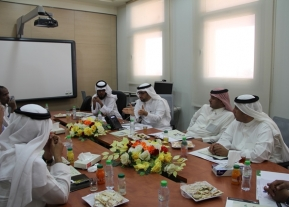 The First Meeting Of The Deanship Of Community Service And Continuing Education With Deans Of The Colleges And Scientific Committees In Charge